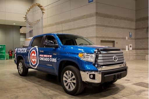 2017 Toyota Tundra Chicago Cubs World Series Trophy Truck: Photo Gallery