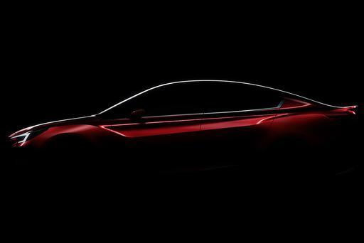 Subaru Impreza Concept to Debut at 2015 Los Angeles Auto Show