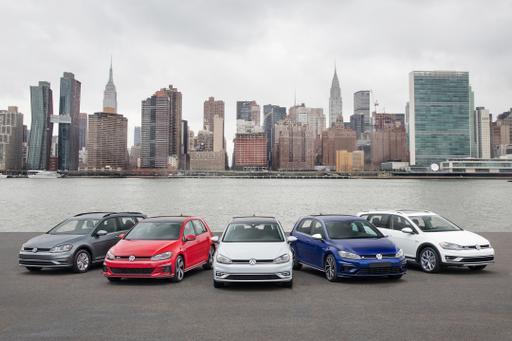 Volkswagen Refreshes 2018 Golf