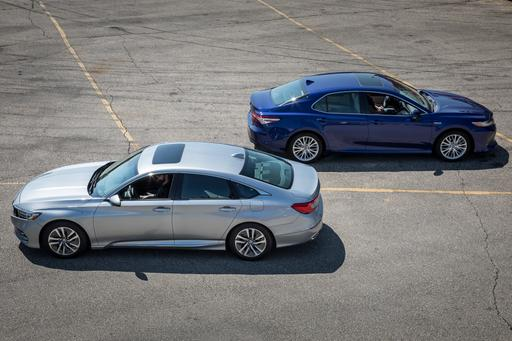 Kicking Gas and Taking Names: Which Hybrid Is Better, Camry or Accord?