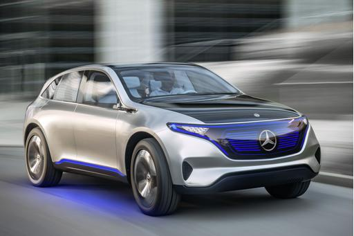 Mercedes Unveils First Concept for New EQ Electric Sub-Brand