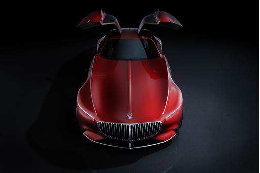 Mercedes-Benz Unveils Vision Maybach 6 Coupe Concept
