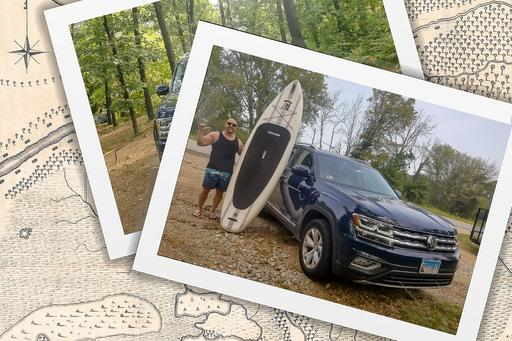 I Lived in a Volkswagen Atlas Down by the River!