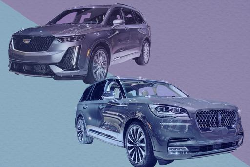 Auto Show Face-Off: 2020 Cadillac XT6 Vs. 2020 Lincoln Aviator