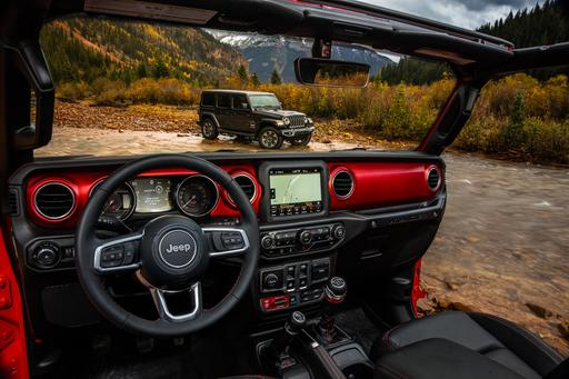 2018 Jeep Wrangler Cabin Unveiled