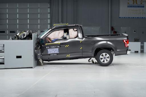 2016 Ford F-150 Shines in IIHS Crash Tests
