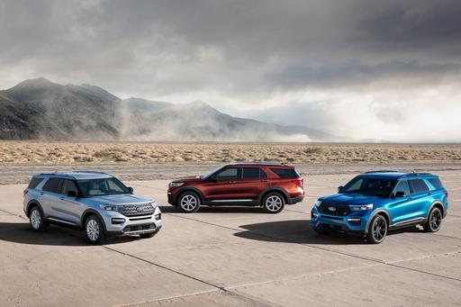2020 Ford Explorer ST and Hybrid: Go Fast or Go Far
