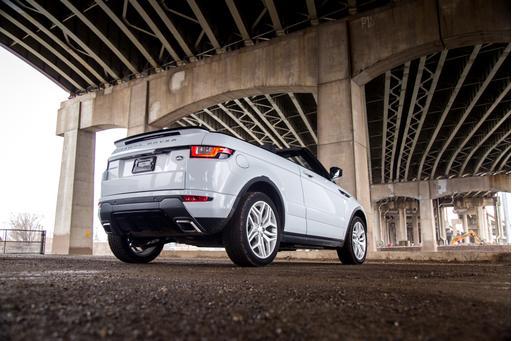 2017 Land Rover Range Rover Evoque Convertible Review: Photo Gallery