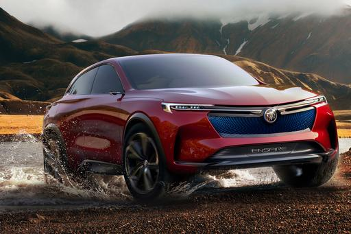 Is Buick Enspire Concept a Tesla Model X Fighter? Don't Get Your Hopes Up