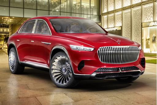 6 Ways Vision Mercedes-Maybach Ultimate Luxury Lives Up to Its Name