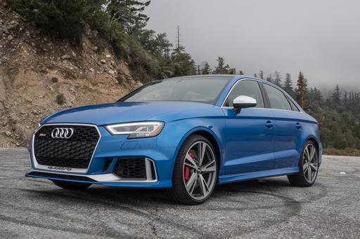 2017 Audi RS 3 Review: At This Price, Good Doesn't Cut It