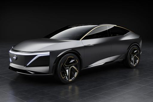 Nissan IMs Concept Wraps Exotic Tech in Shapely Sedan