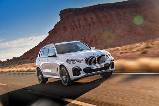 BMW's Redone 2019 X5 Adds Size, Power and Fancier Tech