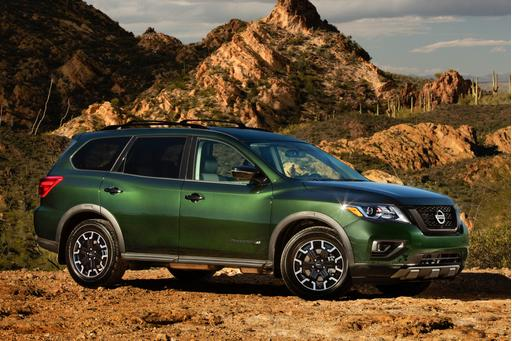 2019 Nissan Pathfinder Rocks New Value Edition