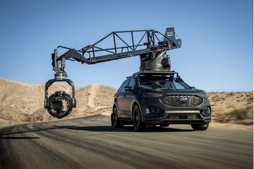 Ford Edge ST Built for High-Speed Action Revs Us Up for Car-Chase Movies