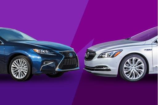 2017 Buick LaCrosse Vs. 2017 Lexus ES 350: Review Faceoff