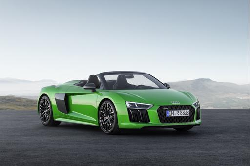 Audi R8 V10 Plus Spyder to Make U.S. Debut