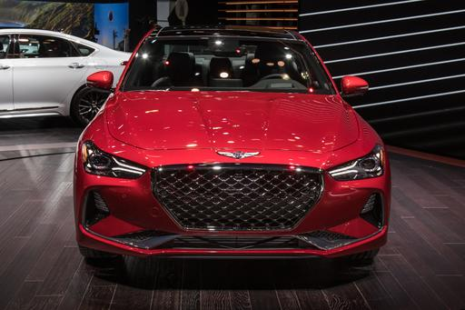 Photo Gallery: Genesis G70 Finally Makes It Official in New York