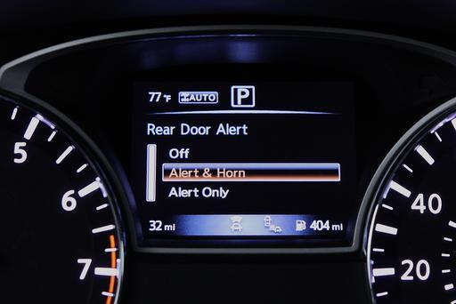Nissan Launches Rear Door Alert System