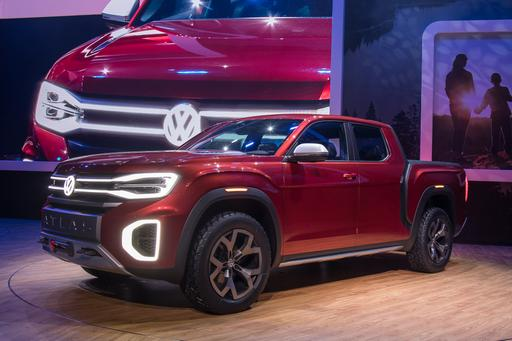 Volkswagen Atlas Tanoak Photo Gallery: A VW Pickup for the Rest of Us