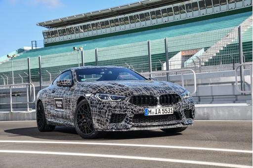 Check M8: BMW Moves Pieces Into Place for High-Performance 8 Series