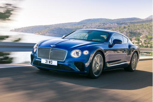 2019 Bentley Continental GT Preview