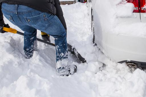 How to Free Your Car From a Snowbank or Ice Patch