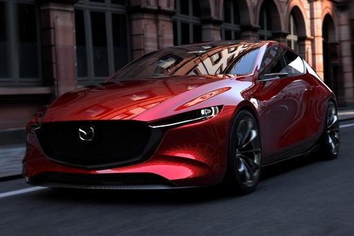 Mazda Kai, Vision Coupe Concepts Portend Sleek Styling