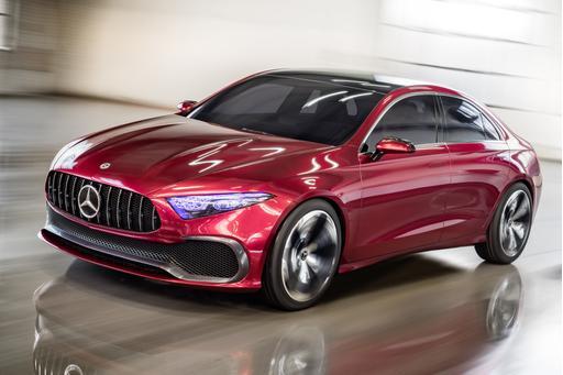 Mercedes Will Bring A-Class 'Baby Benz' Sedan to U.S.