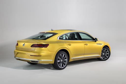 2019 VW Arteon's U.S. Version Debuts at Chicago Auto Show