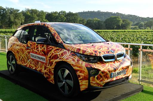 BMW i3 'Spaghetti Car' Inspires Food-Car Combos