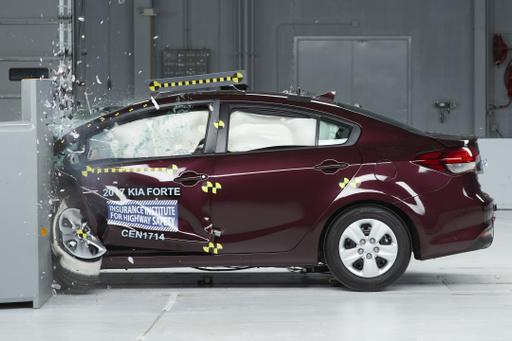 2017 Kia Forte Earns IIHS Top Safety Pick Plus Award
