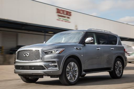 2018 Infiniti QX80: Affordable But Aging