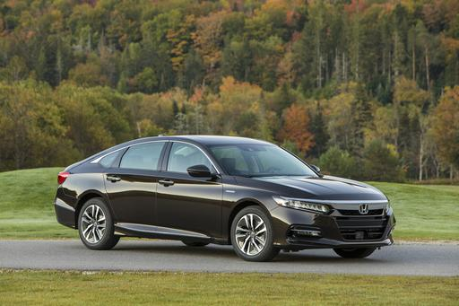 2018 Honda Accord Hybrid Aces Government Crash Tests