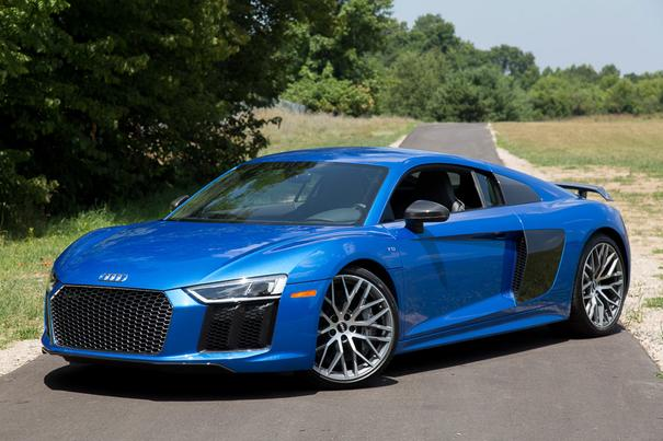 Our view: 2017 Audi R8