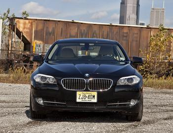 Our view: 2012 BMW 535