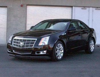 Our view: 2009 Cadillac CTS