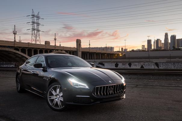 2018 Maserati Quattroporte Review: Conventional Undercover