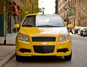 Our view: 2009 Chevrolet Aveo