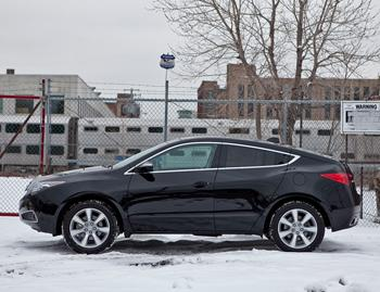 Our view: 2010 Acura ZDX