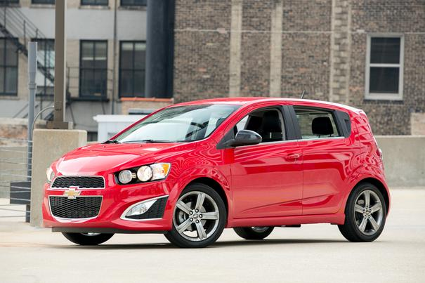 Our view: 2013 Chevrolet Sonic