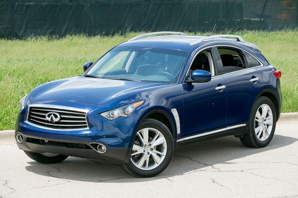 Our view: 2013 Infiniti FX37