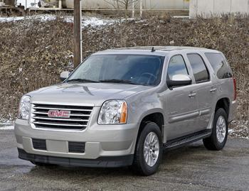 Our view: 2010 GMC Yukon Hybrid