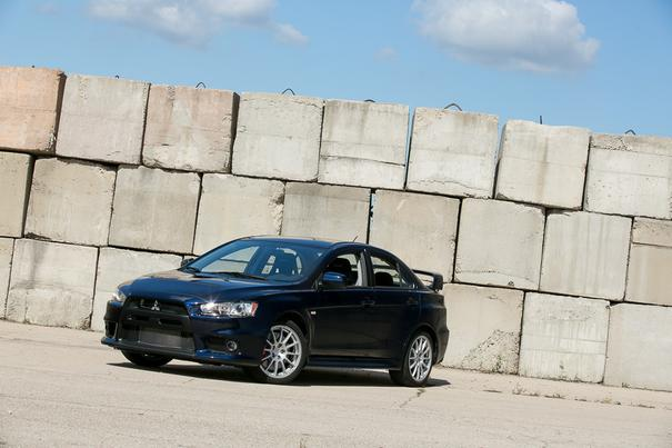 Our view: 2015 Mitsubishi Lancer Evolution