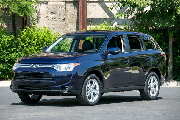 Our view: 2014 Mitsubishi Outlander