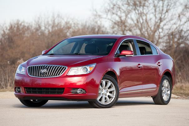 Our view: 2013 Buick LaCrosse