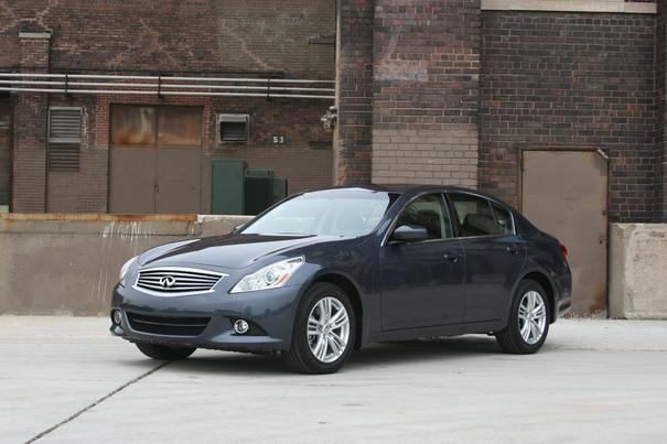 Our view: 2012 Infiniti G25