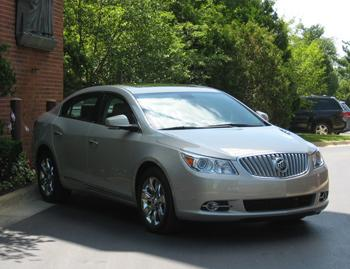 Our view: 2011 Buick LaCrosse