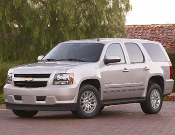 Our view: 2009 Chevrolet Tahoe Hybrid