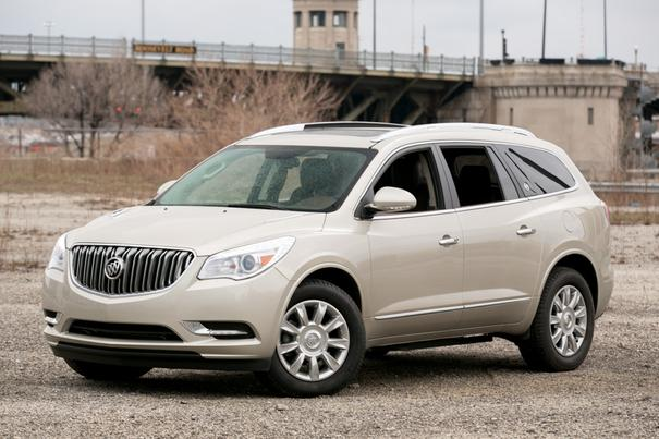 Our view: 2013 Buick Enclave